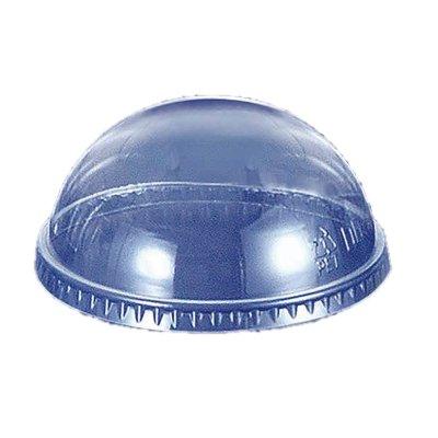 透明カップ 透明コップ プラカップドーム蓋 14〜20オンス用 穴無し
