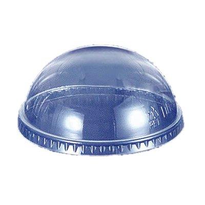 透明カップ 透明コップ プラカップドーム蓋 12オンス用 穴無し