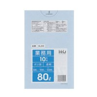 GL83 ポリ袋80L 透明 0.04 HHJ 10枚入り×30冊【300枚】
