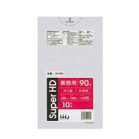GH98 ポリ袋 90L 半透明 0.03 HHJ 10枚入り×30冊【300枚】