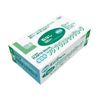 【新規受注停止中】プラスチックグローブ L 粉無 PVC 100枚入り×20箱【2,000枚】