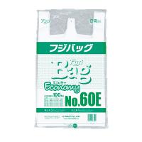 【一時欠品中】フジバッグNo.60E 関東規格エコノミー 100枚入り×10袋【1,000枚】