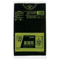 TM22 業務用ポリ袋20L 黒0.025 LL+meta ジャパックス 10枚入り×60冊【600枚】
