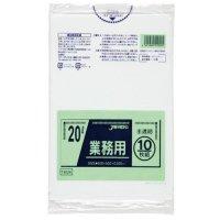 TM24 業務用ポリ袋20L 半透明0.025 LL+meta ジャパックス 10枚入り×60冊【600枚】