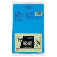 P-41 業務用ポリ袋45L 青0.03 LLDPE ジャパックス 10枚入り×60冊【600枚】