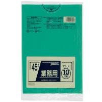 CCG45 カラーポリ袋45Lグリーン (10枚) 0.03 LLDPE ジャパックス 10枚入り×60冊【600枚】