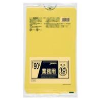 CY90 業務用ポリ袋90L 黄色 0.045 LLDPE ジャパックス 10枚入り×30冊【300枚】
