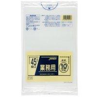 P-48 業務用ポリ袋45L 透明0.04 LLDPE ジャパックス 10枚入り×40冊【400枚】