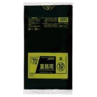 TM72 業務用ポリ袋70L 黒0.035 LL+meta ジャパックス 10枚入り×40冊【400枚】