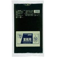 P-72 業務用ポリ袋70L 黒0.04 LLDPE ジャパックス 10枚入り×40冊【400枚】