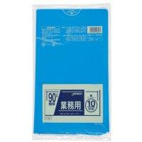 P-96 業務用ポリ袋90L 青0.05 LLDPE ジャパックス 10枚入り×20冊【200枚】