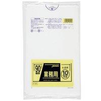 P-99 業務用ポリ袋90L 半透明0.05 LLDPE ジャパックス 10枚入り×20冊【200枚】