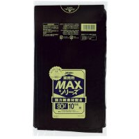 S-92 業務用MAX90L 黒0.025 HDPE ジャパックス 10枚入り×30冊【300枚】