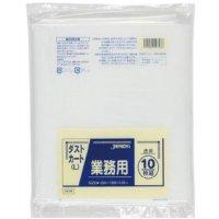 DK98 業務用ダストカートL150L 透明0.05 LLDPE ジャパックス 10枚入り×10冊【100枚】