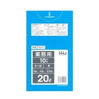 GL21 ポリ袋20L 青 0.03 LLDPE HHJ