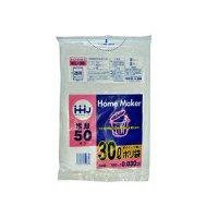 KL38 ポリ袋 30L 透明 0.03 LLDPE HHJ
