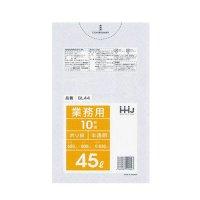 GL44 ポリ袋45L 半透明 0.03 LLDPE HHJ