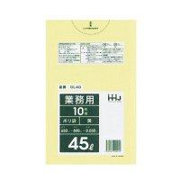 GL40 ポリ袋45L 黄 0.03 LLDPE HHJ