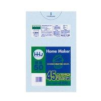 KL53 ポリ袋 45L 透明 0.03 LLDPE HHJ