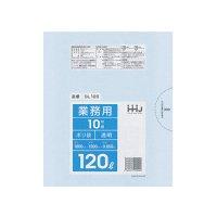 GL125 ポリ袋120L 透明 0.05 LLDPE HHJ 10枚入り×20冊【200枚】