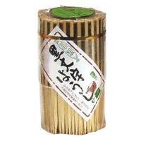 【バラ販売】BB-012 黒文字楊枝7.5cm(手作り) 約300本入り×10個