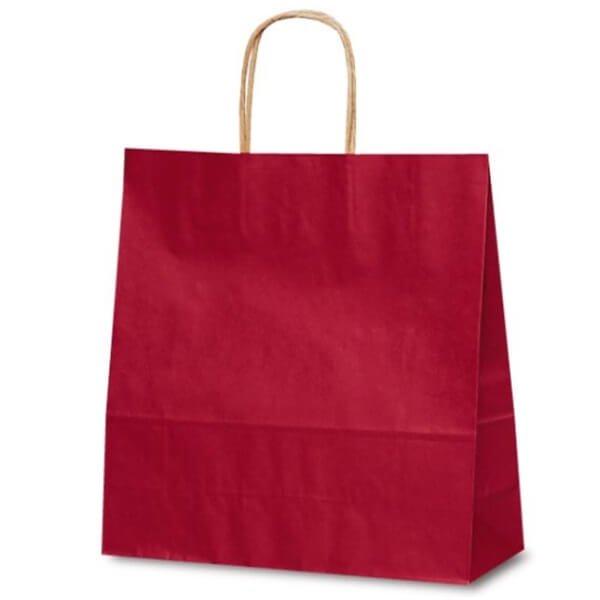 No.1654 T-6 自動紐手提袋 カラー(赤) 【200枚入り】が安い! 業務用品の大量購入なら激安通販びひん.shop。【法人なら掛け払い可能】【最短翌日お届け】【大口発注値引き致します】
