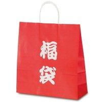No.1695 T-6 自動紐手提袋 福袋(文字) 【200枚入り】