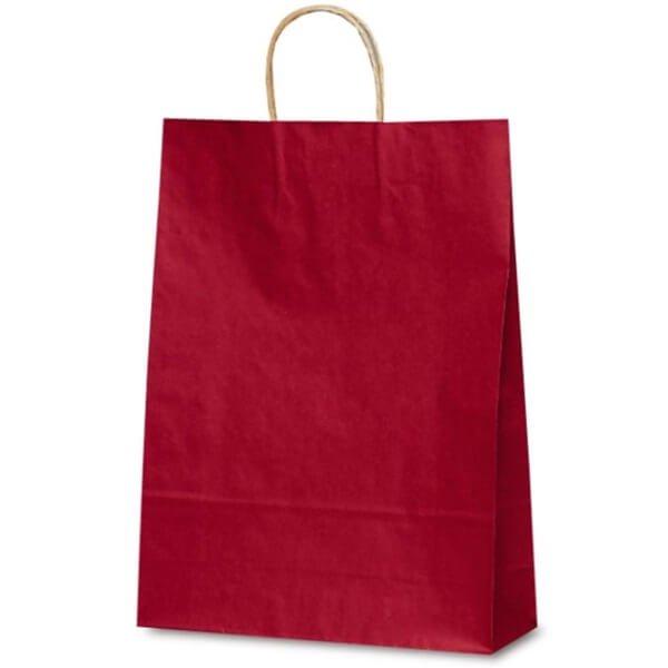 No.1854 T-8 自動紐手提袋 カラー(赤) 【200枚入り】が安い! 業務用品の大量購入なら激安通販びひん.shop。【法人なら掛け払い可能】【最短翌日お届け】【大口発注値引き致します】