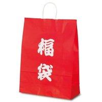 No.1495 T-12 自動紐手提袋 福袋(文字) 【200枚入り】
