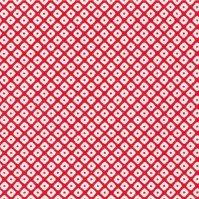 No.240 包装紙 鹿の子(赤) 4/6半切