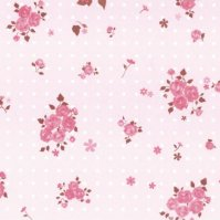 No.294 包装紙 ベティ(ピンク) 4/6半切 【300枚入り】