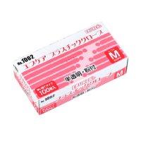 No.1002 エブケアプラスチックグローブ 箱入 S/M/L