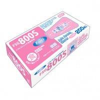 【新規受注停止中】FSG800 ソフトストレッチ抗菌手袋 S 200枚入り×30箱【6,000枚】