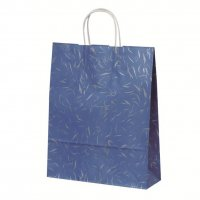 自動手提袋Z型(2切) HZ 風雅ブルー 【200枚入り】