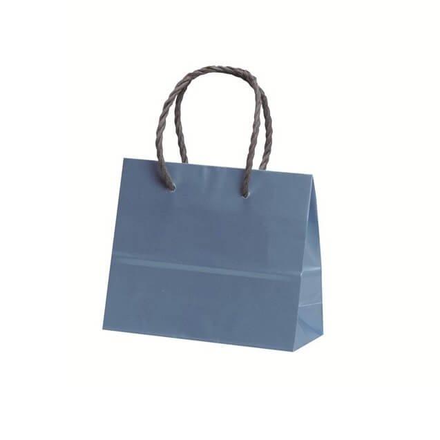 手提袋(アートバッグ) ミニ ブルー 【200枚入り】が安い! 業務用品の大量購入なら激安通販びひん.shop。【法人なら掛け払い可能】【最短翌日お届け】【大口発注値引き致します】