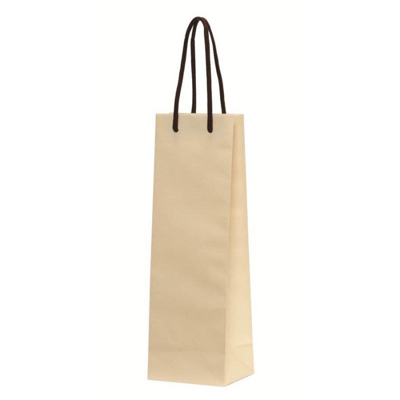 手提袋(アートバッグ) Hワインバッグ アイボリー 底ボール付き 【100枚入り】が安い! 業務用品の大量購入なら激安通販びひん.shop。【法人なら掛け払い可能】【最短翌日お届け】【大口発注値引き致します】