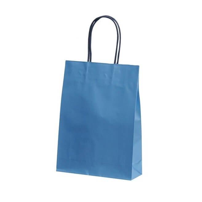 手提袋(ストレートバッグ) ST ビューティーブルー 【200枚入り】が安い! 業務用品の大量購入なら激安通販びひん.shop。【法人なら掛け払い可能】【最短翌日お届け】【大口発注値引き致します】
