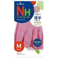 ナイスハンドミュー薄手 M ピンク