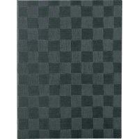 【3冊よりお届け可能】チェック柄メニュー MB-301(大・A4) グレーブラック/アイボリー/ブラウン