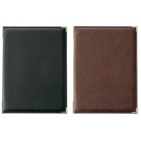 【3冊よりお届け可能】高級レザータッチソフトメニュー LB-251(大・A4) ブラック/ブラウン