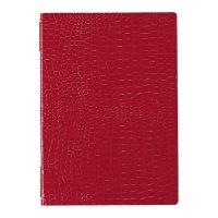 【3冊よりお届け可能】クロコレザータッチピンホールメニュー GB-121(大・A4) レッド/ブラウン/ブラック
