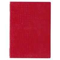 【3冊よりお届け可能】クロコレザータッチピンホールメニュー GB-122(中・B5) レッド/ブラウン/ブラック