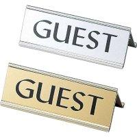 【3個よりお届け可能】アルミA型 ゲスト(GUEST) RY-34G ゴールド/シルバー