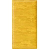 【10冊よりお届け可能】レザータッチグルーブ二ツ折伝票ホルダー BH-111 イエロー/ブラウン/グリーン/レッド/ブラック/ブルー