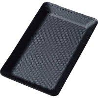 【最小購入数5個】カーボンタッチキャッシュトレイ CT-111 ブラック/ブラウン