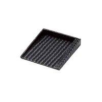 【最小購入数5個】メッシュレザータッチシリーズ メモトレイ MT-10 ブラック/ブラウン