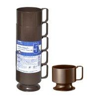 ICHL-5BR プラカップホルダー 茶 200ml用 5個入り×40パック【200個】