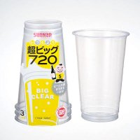 C720Z 超ビッグ720 クリア—カップ 720ml 3個入×150パック