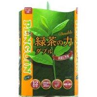 ペンギン ティーフラボン 「緑茶の力」 ダブル 35m 12ロール×6袋【72ロール】