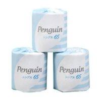 【10ケースよりお届け可能】ペンギン 1ロール シングル 65m